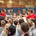 Abschlusskreis - Towers Go - Sparkasse Harburg-Buxtehude Basketballtag