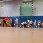 Dribbeltraining - Sparkasse Harburg-Buxtehude Basketballtag