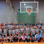 Gruppenbild - Sparkasse Harburg-Buxtehude Basketballtag