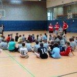 Spielerehrung - Sparkasse Harburg-Buxtehude Basketballtag