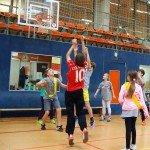 Spielszene - Sparkasse Harburg-Buxtehude Basketballtag